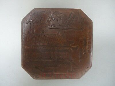 Superb Collected China Ancient Copper Hand-made Old Beijing Ink or Jewelry Box
