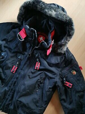 WELLENSTEYN RESCUE JACKET, Winterjacke, m. Kapuze, Größe L