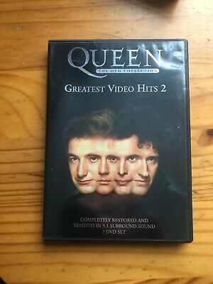 Queen - Greatest Video Hits 2 - (Wide Screen) (DVD, 2003, 2-Disc Set)