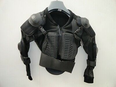 Texpeed Motocross Upper Body Back Chest Protector Jacket Teenage 11 - 14 years