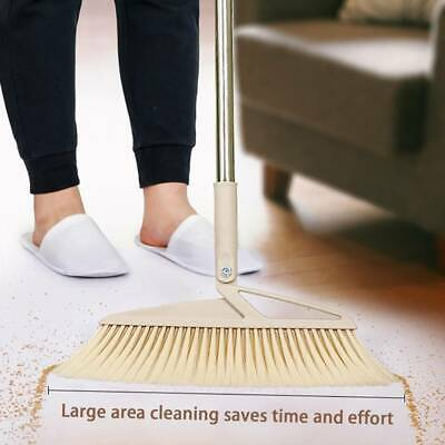 Handle Disposal Detachable Dustpan Sweep with Brush Broom Sweep Clean Clip Tools