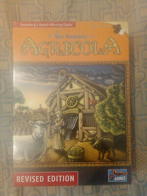 Agricola Board Game - Revised Edition (the best version) - BRAND NEW & SEALED