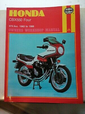 Honda CBX 550 CBX550 Four 1982-1986 New Haynes Workshop Manual Service
