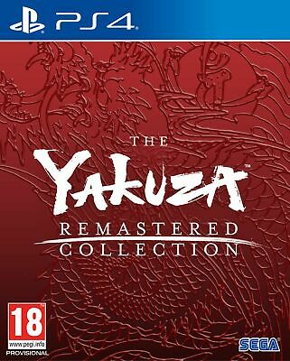 Yakuza Remastered Collection (PS4) In Stock Now New & Sealed Free UK P&P