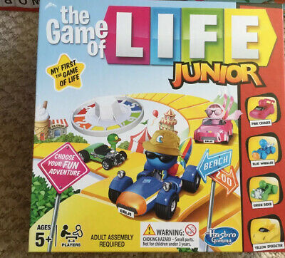 Hasbro Junior The Game of Life Games Excellent Condition