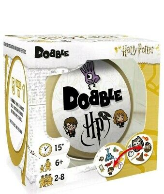 Harry Potter Dobble Card Game - 5 In 1 Game Of Observation & Quick Reflexes