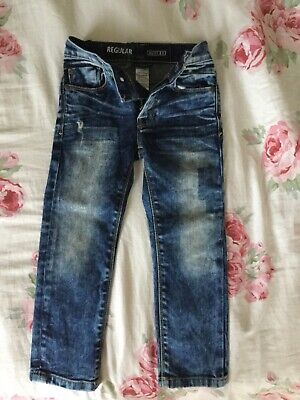 Boy's Blue Jeans From NEXT. Age 5yrs Regular Fit.
