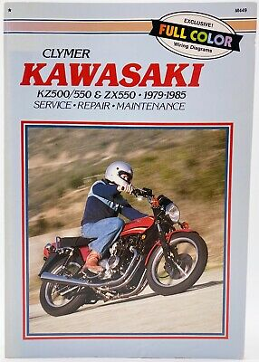 Clymer Kawasaki Kz 500 Kz 550 Zx 550 - Service Repair Maintenance Guide Manual