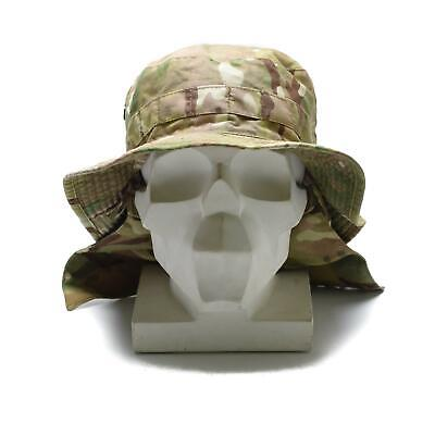 Original British Tactical Camo Hat MTP Boonie Cap with Neck Flap Summer Hat