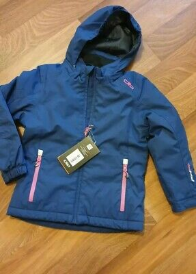 Brand New Girls Snow Ski Jacket Age 7-8 Navy & Pink Warm Winter Coat