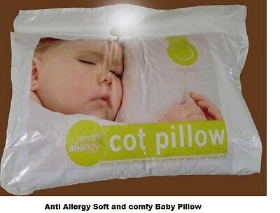 Soft Anit Allergy Baby Cot Pillow With fFee Pillow Case