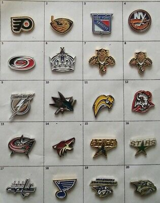 Different Teams Hockey Nhl Logo Pin (Your Choice) # G617