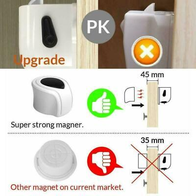 Magnetic Cabinet Drawer Cupboard Locks For Baby Kids Child Safety Protectio M3Z2