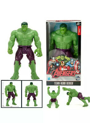 Marvel DC Super Heroes Batman Superman Hulk Action Figures Toys Cake Topper 6pcs