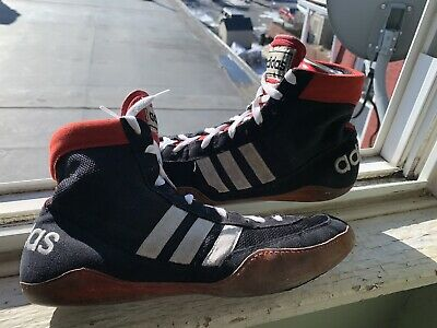 Adidas Rare Og Combat Speed Wrestling Shoes Size 10.5