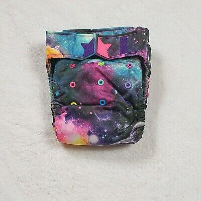 Ragababe Galaxy (1st Production Original) Cloth Diaper Size 3 2-step