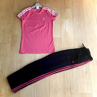 ADIDAS *13-14y GIRLS SPORTS TOP JOGGERS Sport Wear OUTFIT 13-14 YEARS