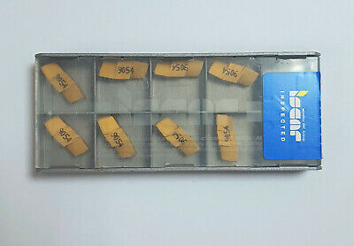Iscar Carbide Inserts Qty 10 NEW! GIF 5.00E-0.60 IC9054