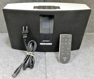 BOSE SOUNDTOUCH 20 WI-FI MUSIC SYSTEM w/ Remote Control | 355589-SM2 | WHITE