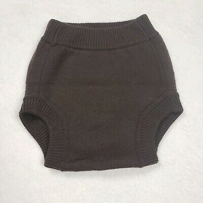 Brown Wool Cloth Diaper Cover Sustainablebabyish  Large Sloomb