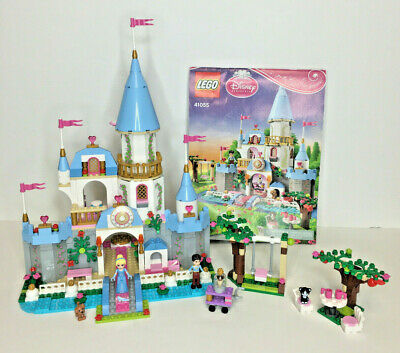 Lego 41055 Disney Princess Cinderella's Romantic Castle Set 100% Complete