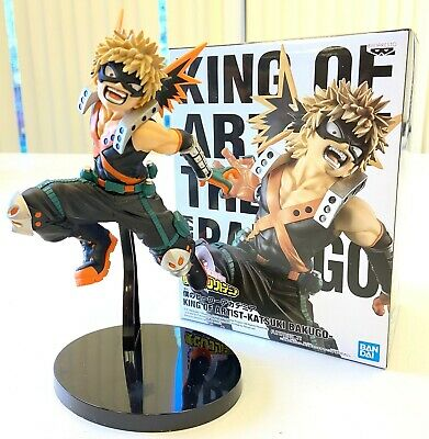 Banpresto My Hero Academia King of Artist Anime Figure Katsuki Bakugou BP39939
