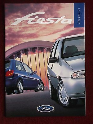 FORD FIESTA  1998 Sales Brochure Edition 3