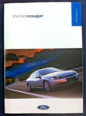 FORD COUGAR - 1999 - Sales Brochure