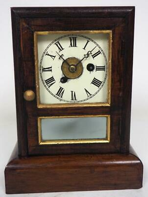 Seth Thomas Shelf Clock Original S T Hands Mantel Clock C1900