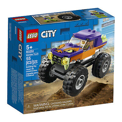 LEGO® City Monster Truck Building Set 60251 NEW
