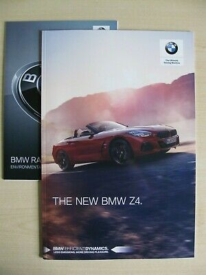 BMW Z4 UK Sales Brochure (2019)