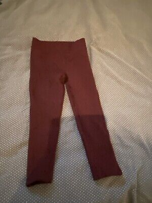 Girls Burgunday Joggers / Tracksuit Bottoms - Age 4 Years