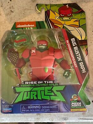 2019 RISE OF THE TEENAGE MUTANT NINJA TURTLES BUG BUSTIN/' RAPH IN OOZEQUITO SUIT