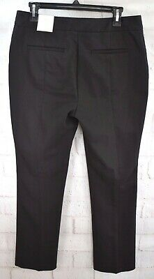 New Chicos Women's The Ultimate Fit City Chic Slim Leg Trousers Pants Sz 1 (8-M)