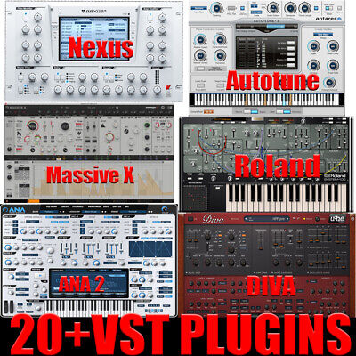 Pro VST Plugins Collection (20+VST Plugins) (windows)