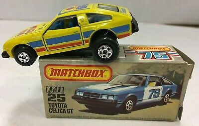REPRO BOX MATCHBOX SUPERFAST n 25 TOYOTA CELICA GT