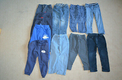 Age 3-4 Trousers Boys 11 Pairs Tu George Matalan
