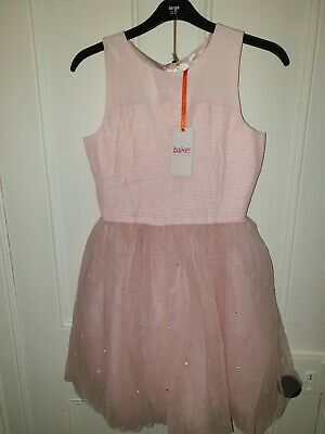 """Girls Pink Sleeveless Dress By """"TED BAKER"""" sz 12 to 13 Years BNWT"""