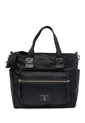 MARC JACOBS Baby Diaper Bag Nylon Black New With Tags