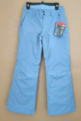 The North Face Women's Sally Ski Snow Sports Light Blue Pants Sz Small S New $99