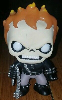 Funko Pop Marvel #18 Ghost Rider Vaulted Retired Loose