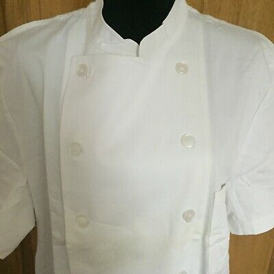 Vintage cook jacket BRAGARD, France / restaurant Chef work jacket (XL)