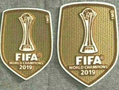 Club World Cup Champions Badge Patch Iron On For Liverpool Jersey 2019