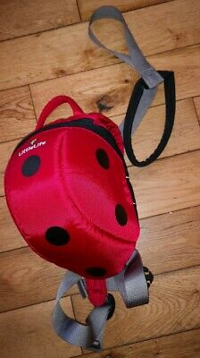 Little Life Ladybird Backpack With Reins