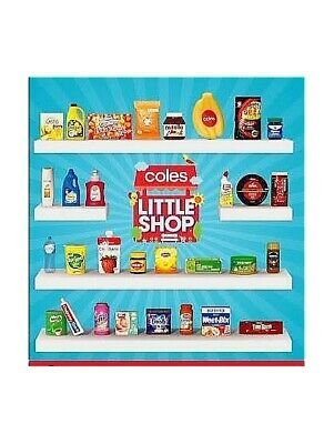 Coles Little Shop 1 Mini Collectables *FAST & FREE POST*