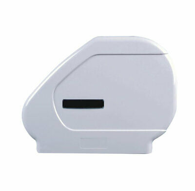 ABS Mini Jumbo Saver Toilet Roll Dispenser and Toilet Roll Bundle