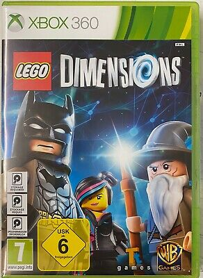 Lego Dimensions (Microsoft Xbox 360) Starter Pack Preowned  Missing Outer Box.