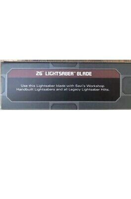 """26"""" Lightsaber Blade Star Wars Galaxy's Edge For Legacy Hilt Disney Official NEW"""