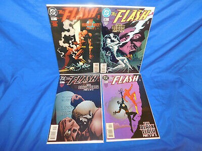 DC The Flash #138 139 140 141 1st Appearance Of the Black Flash