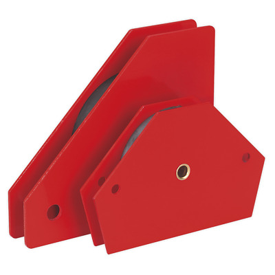Sealey MQC2 Magnetic Quick Clamp Set 2pc